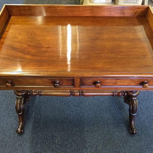 Victorian Mahogony Writing Desk