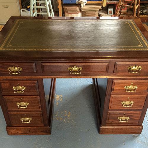 Edwardian Mahogony Desk